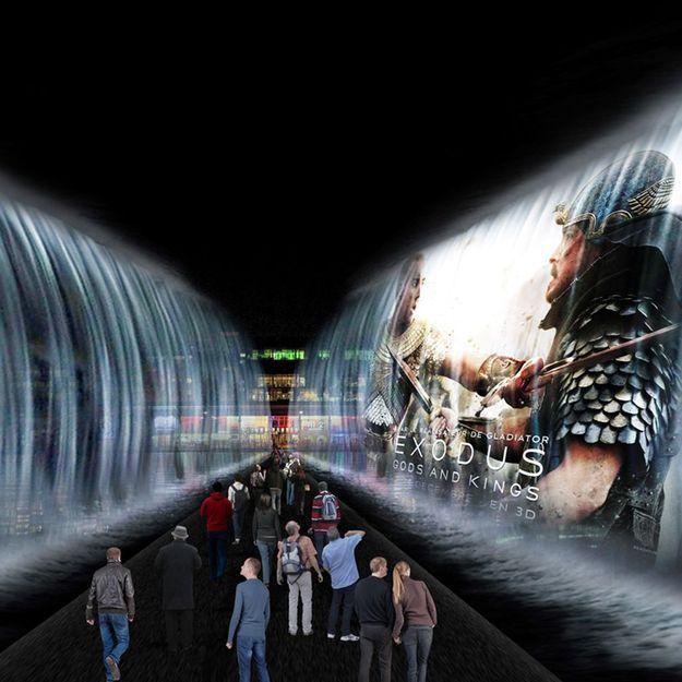Et si la Seine se divisait en deux pour l'avant-première du film de Ridley Scott, « Exodus : Gods & Kings » ?