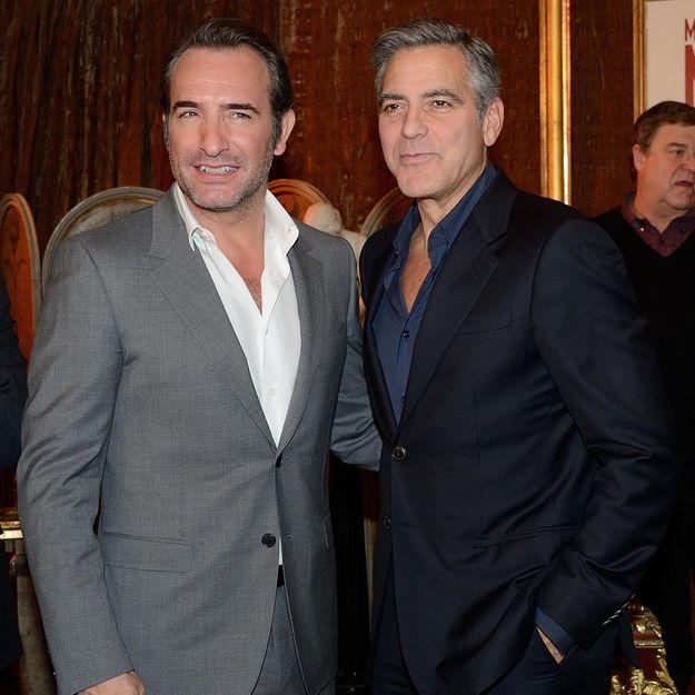Jean Dujardin et George Clooney: «Une bonne bande d'abrutis»