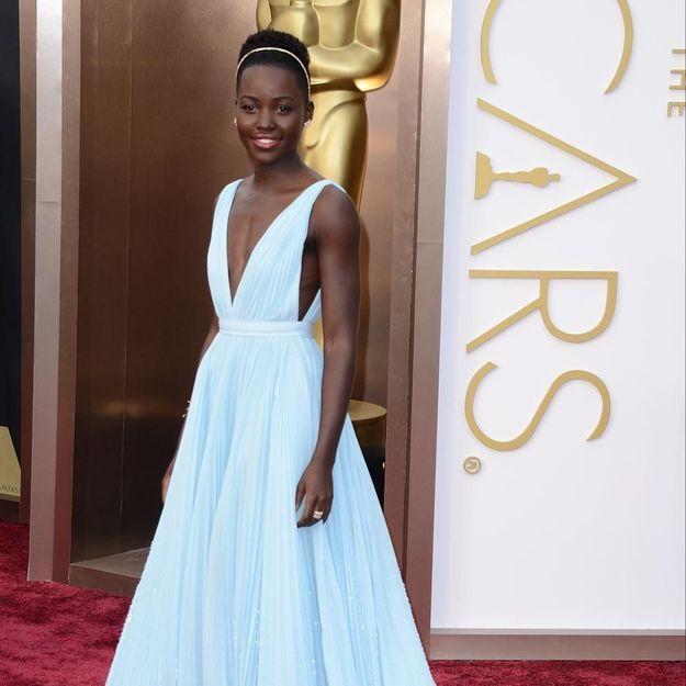 Oscars 2014: Lupita Nyong'o, sacrée meilleure actrice dans un second rôle face à Jennifer Lawrence