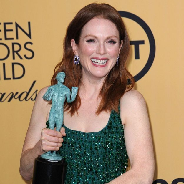 "SAG Awards : le triomphe de Julianne Moore et ""Orange is the New Black"""