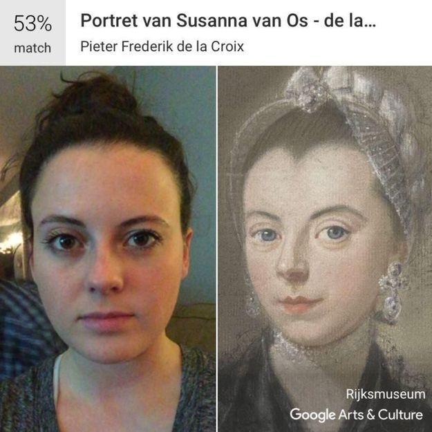 Google retrouve votre sosie parmi des milliers d'œuvres d'arts