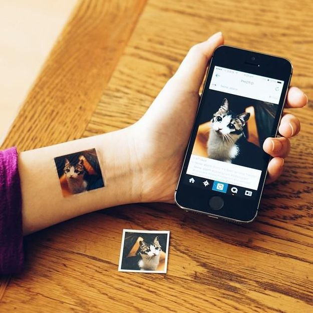 La pépite du web : Avec Picattoo, transformez vos Instragam en tatouages