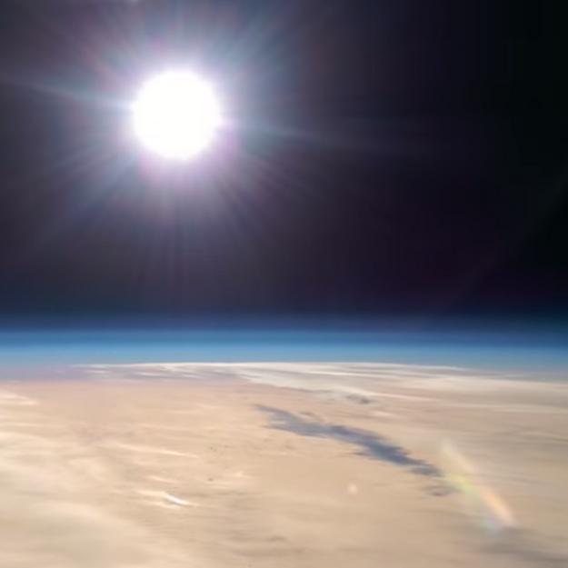 Prêt-à-liker : son smartphone filme la stratosphère !
