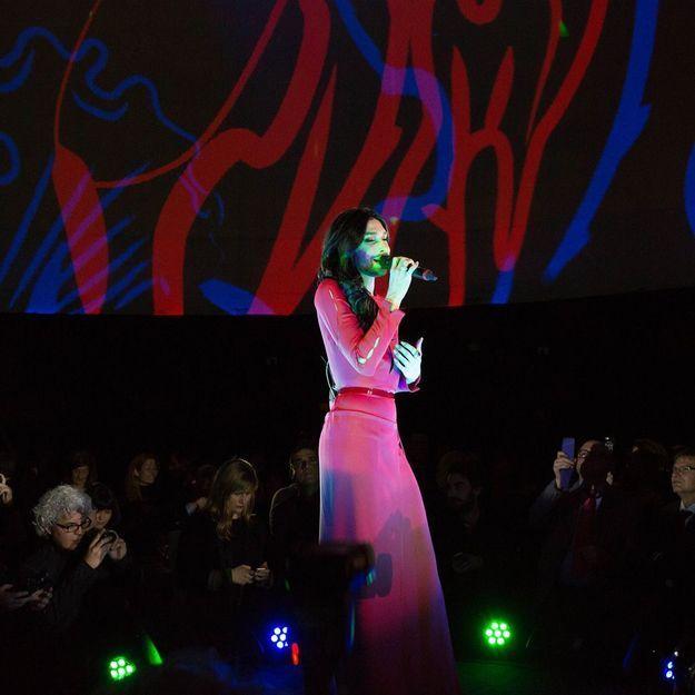 Pour célébrer Vienne à Paris, Conchita Wurst enchante la capitale française !