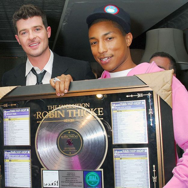Blurred Lines : Pharrell Williams et Robin Thicke condamnés pour avoir copié Marvin Gaye