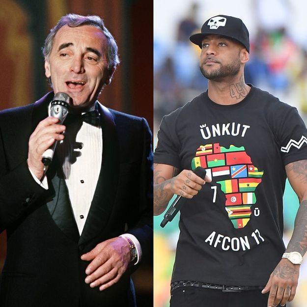 Charles Aznavour et Booba : le duo improbable qui va vous faire pleurer de rire