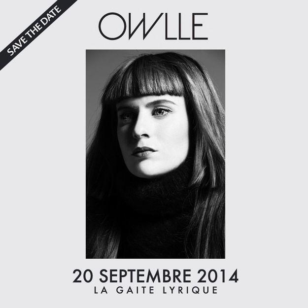 Gagnez des places pour le concert de Owlle à Paris !