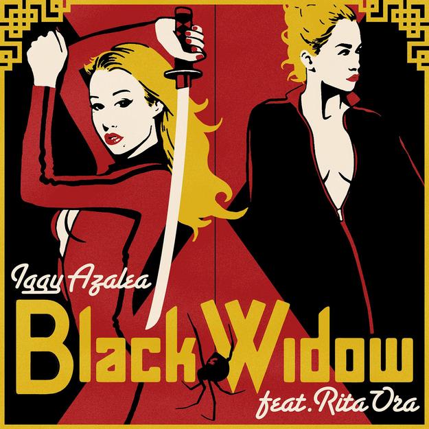 Iggy Azalea et Rita Ora rejouent Kill Bill dans leur clip Black Widow