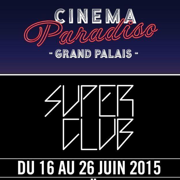 La Nef du Grand Palais de Paris se transforme en énorme club éphémère