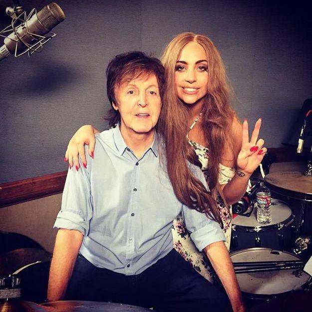 Lady Gaga et Paul McCartney : bientôt une chanson ensemble