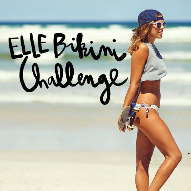 Le ELLE Bikini Challenge en chansons