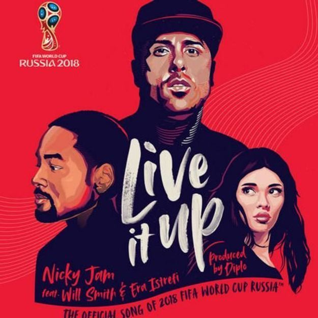 « Live It Up » : découvrez l'hymne officiel de la Coupe du monde de football 2018