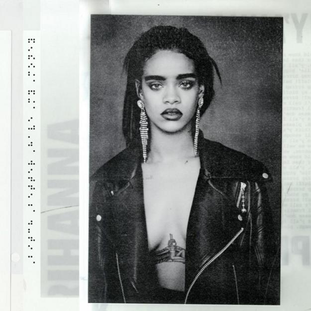 Rihanna a-t-elle vraiment dévoilé la pochette de son nouvel album ?