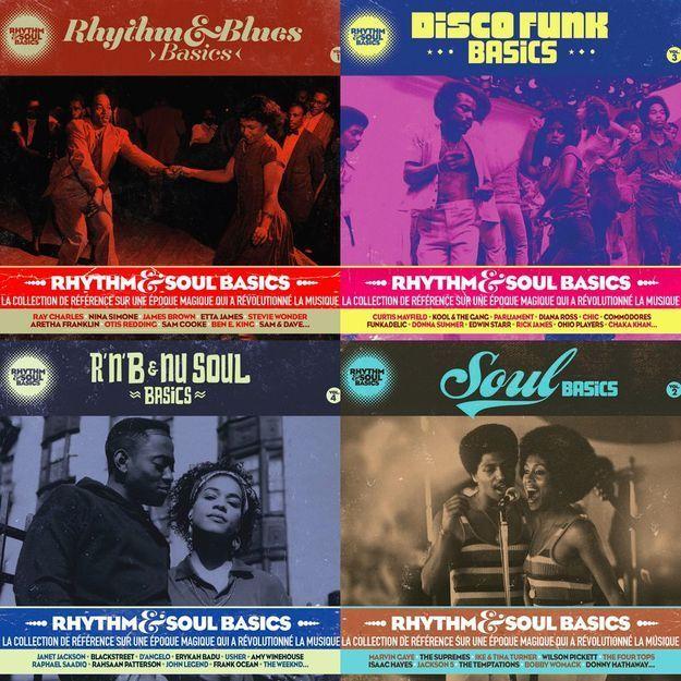« Rythm & Soul Basics » : le mix qui regroupe 130 morceaux de musique noire