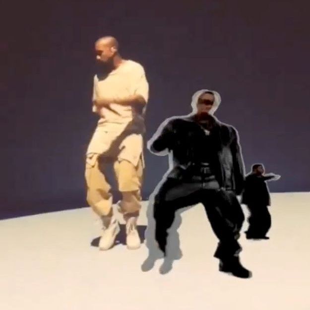 #PrêtàLiker : quand Instagram fait danser Kanye West à l'infini
