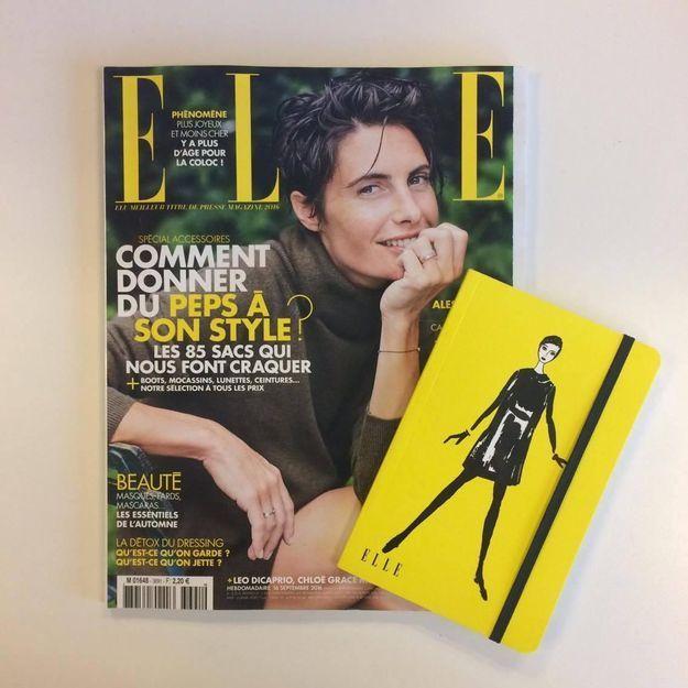 Un carnet de rentrée avec votre magazine ELLE !
