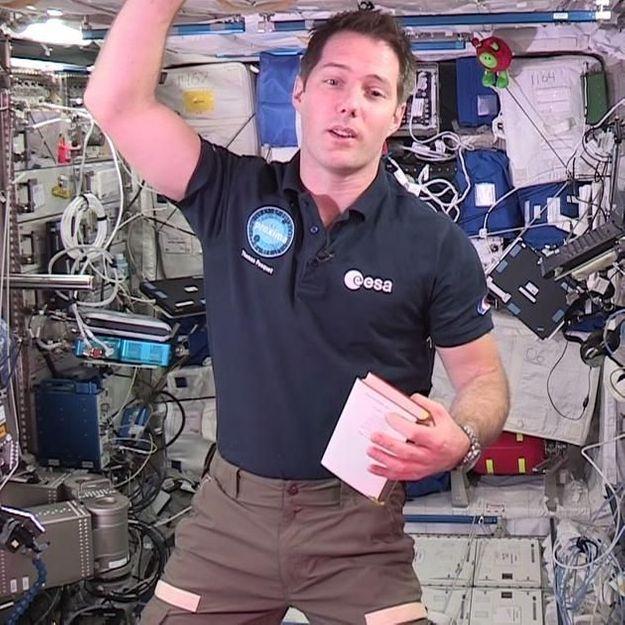 Thomas Pesquet lance le premier concours d'écriture depuis l'espace