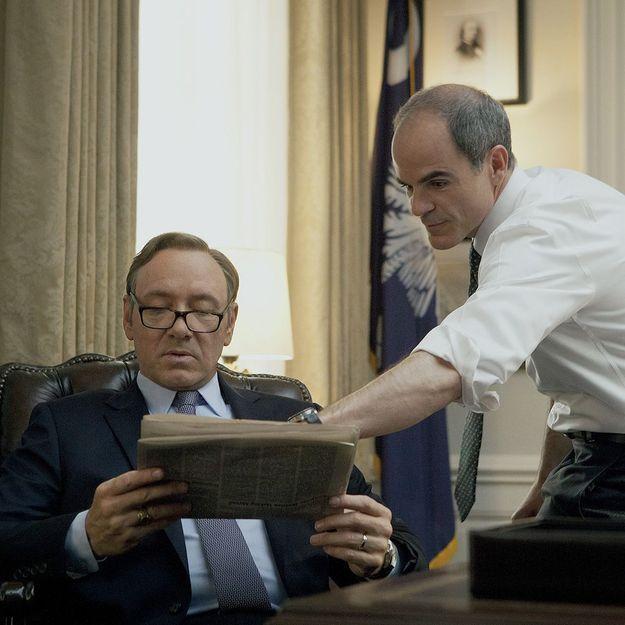 La saison 3 de House of Cards fuite sur Netflix
