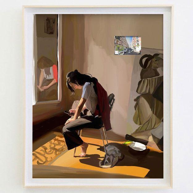 Johanna Tordjman, l'artiste qui peint le confinement des Français