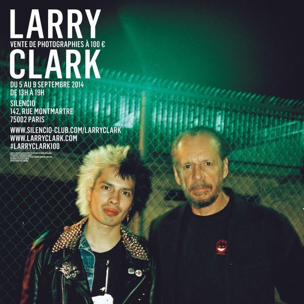 Qui veut s'offrir des photos de Larry Clark pour 100 € ?