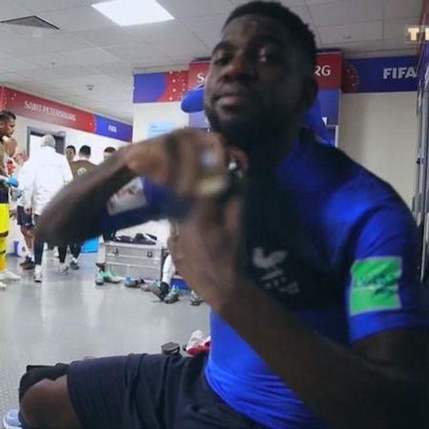« Les Bleus 2018 » : le secret de Samuel Umtiti pour gagner un match ? Du parfum