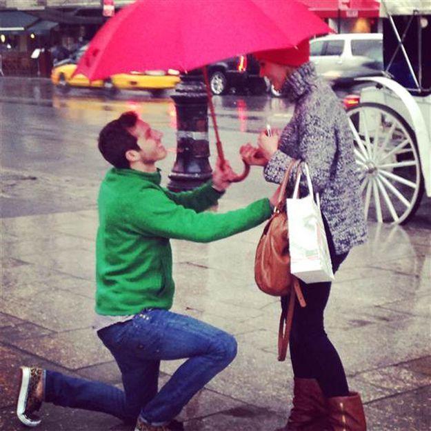 Demande en mariage : serait-ce la plus romantique du monde ?