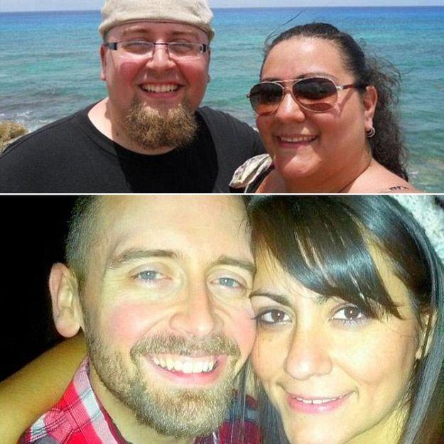 Spectaculaire ! Grâce à la zumba, ce couple perd 140 kilos !