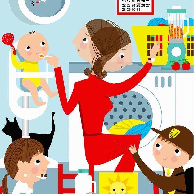 Rester à la maison avec ses enfants est plus difficile que d'aller travailler