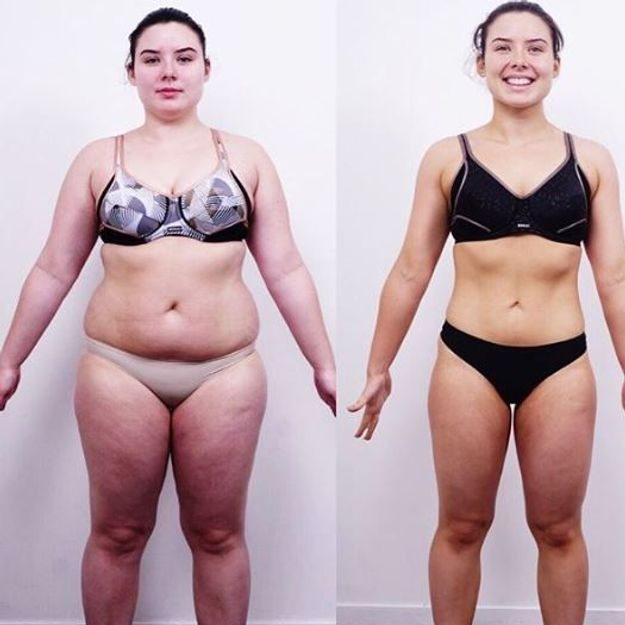 Avant / après : elle change radicalement de silhouette en 8 semaines, le résultat est surprenant
