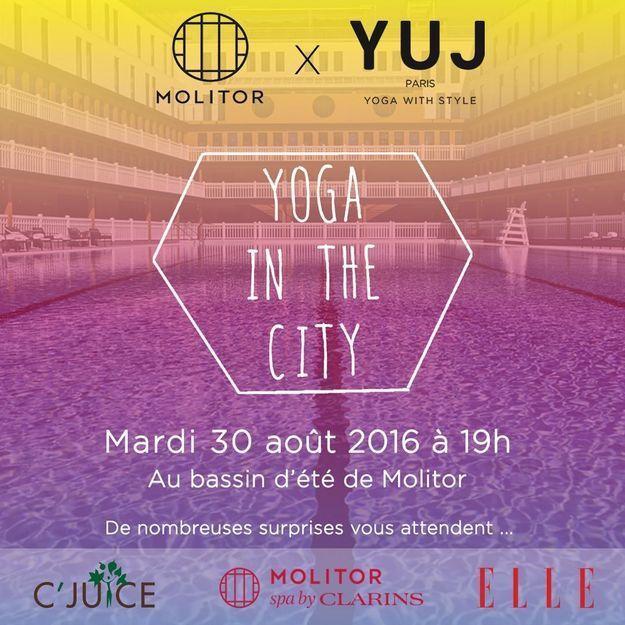 Yoga in the City à Molitor : suivez l'événement en live !