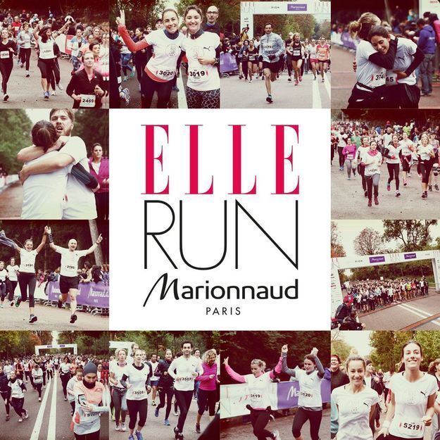 On s'inscrit tous à la ELLE RUN MARIONNAUD, le 16 octobre à Paris !