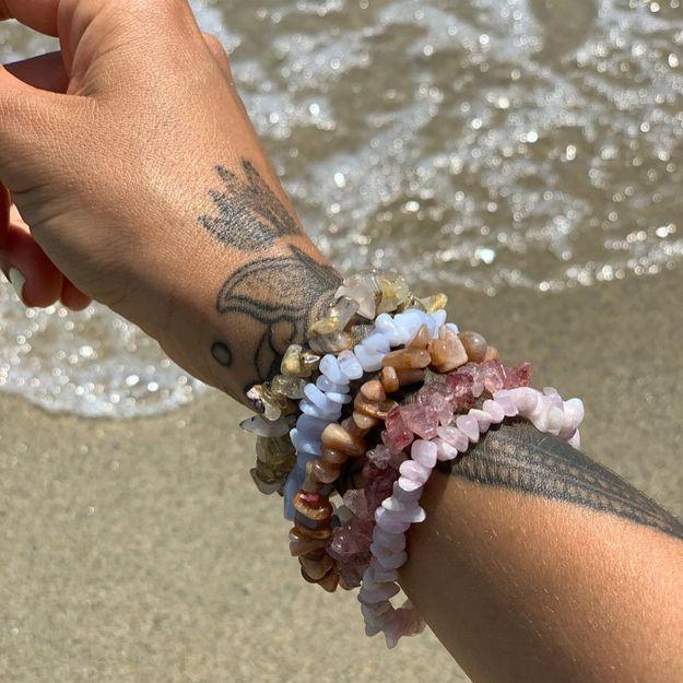 #ELLEFashionCrush : les bijoux en cristaux de Stones Club pour un été ésotérique