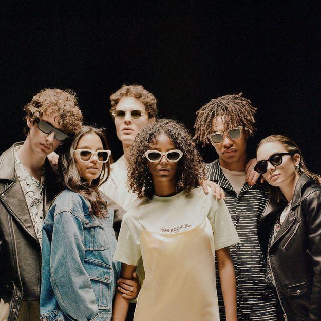 #ELLEFashionCrush : les lunettes de soleil The Kooples par Retrosuperfuture