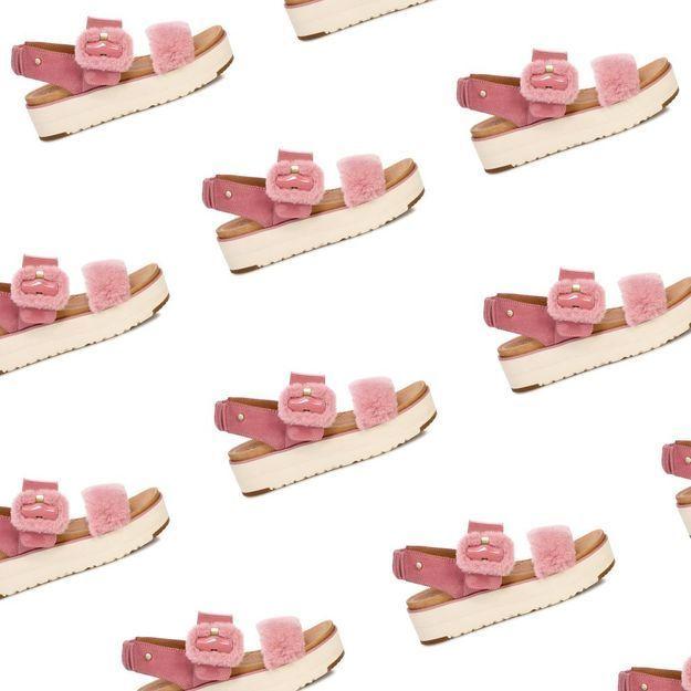 It-pièce : les sandales à poils UGG dont les stars raffolent
