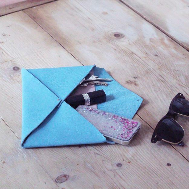 #DIY : comment faire une pochette ?