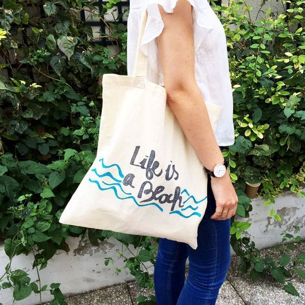 #DIY : comment personnaliser un tote bag ?