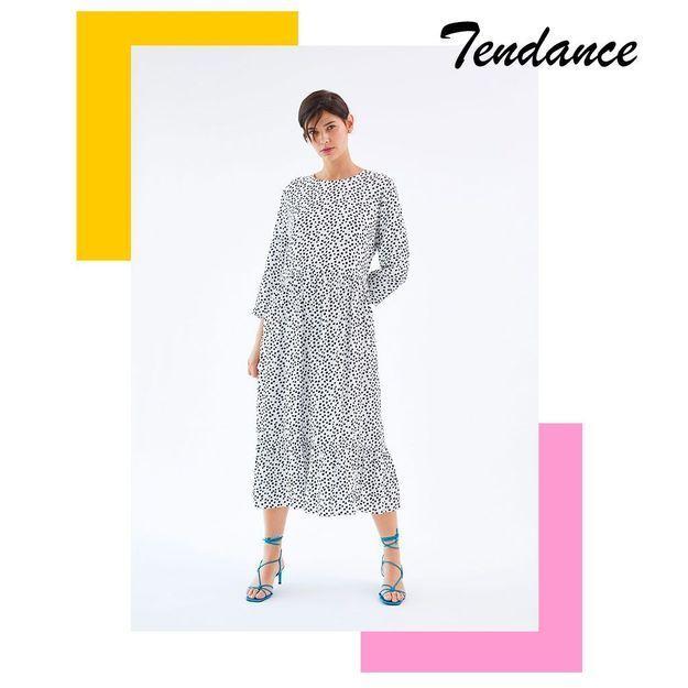 Cette robe Zara est partout sur Instagram et elle est toujours disponible