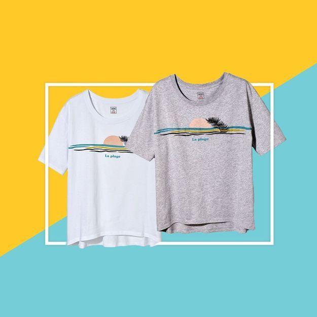 Le t-shirt Swildens en exclu avec votre magazine ELLE