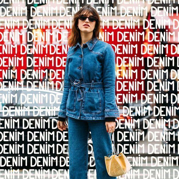 c est officiel ce jean est plus populaire que le slim elle. Black Bedroom Furniture Sets. Home Design Ideas