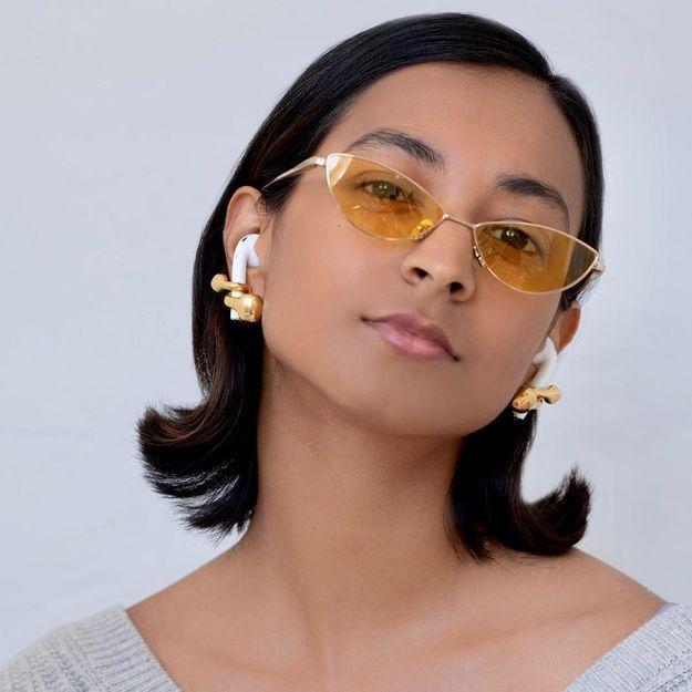 Cette marque crée des boucles d'oreilles pour Airpods et c'est surprenant !