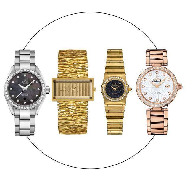 """""""Her Time"""", 100 ans de montres féminines Omega exposées à Milan"""