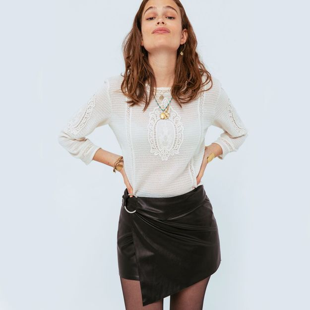 Cette jupe a un secret à partager avec vous…