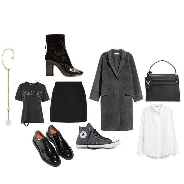 comment porter la micro jupe nos trois bons looks pour. Black Bedroom Furniture Sets. Home Design Ideas