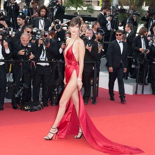 Bella Hadid regrette d'avoir porté cette robe à Cannes