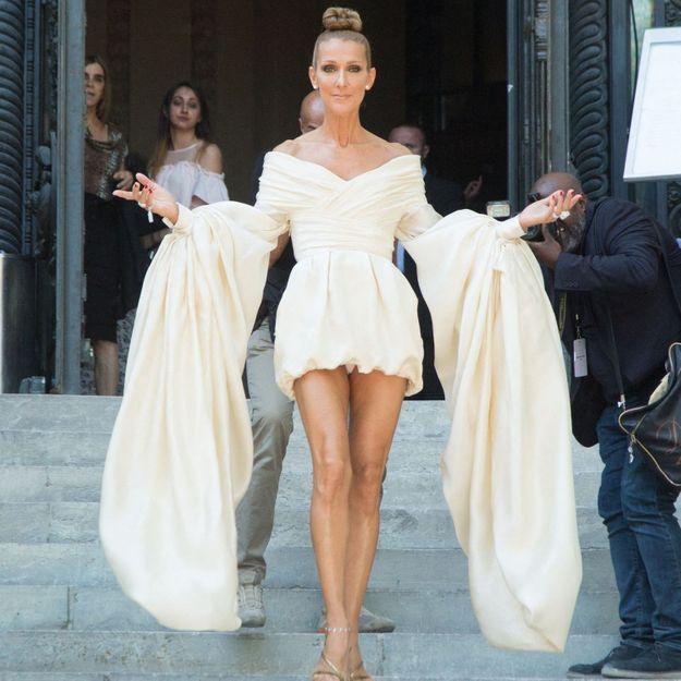 Céline Dion : voici ce que deviennent ses robes de luxe