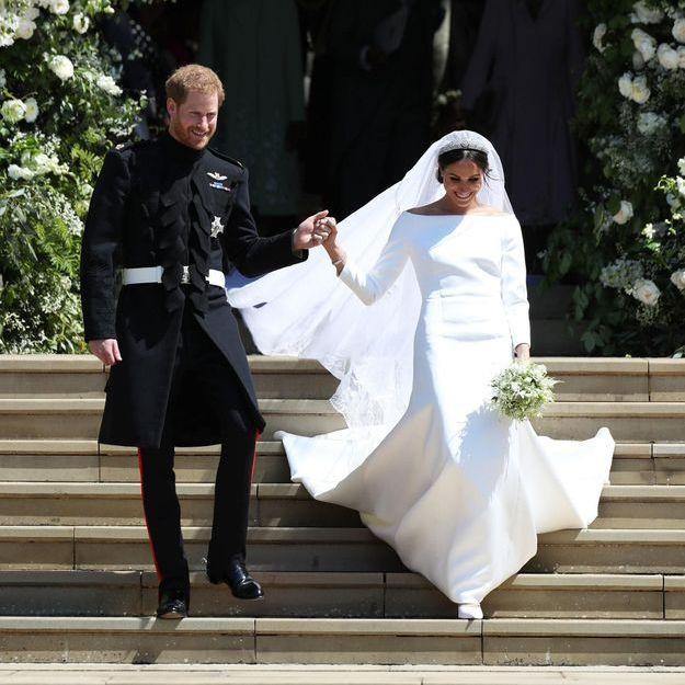 Clare Waight Keller se confie sur la création de la robe de mariée de Meghan Markle : « le Prince Harry m'a remerciée »