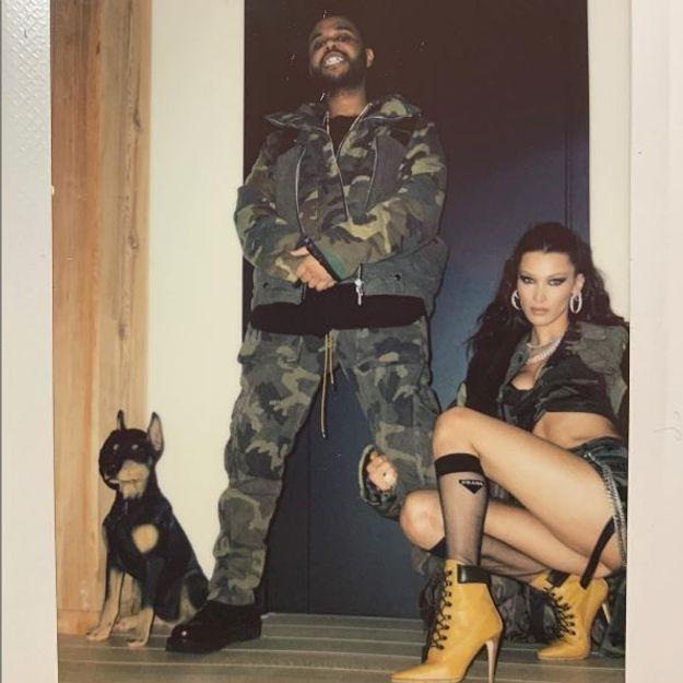 Et l'Oscar du couple le mieux assorti revient à.. Bella Hadid et The Weeknd