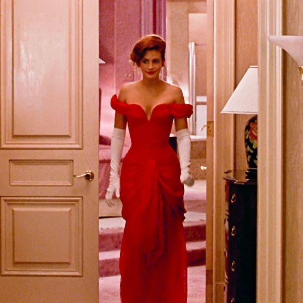 Histoire d'une tenue : la robe rouge de Julia Roberts dans Pretty Woman