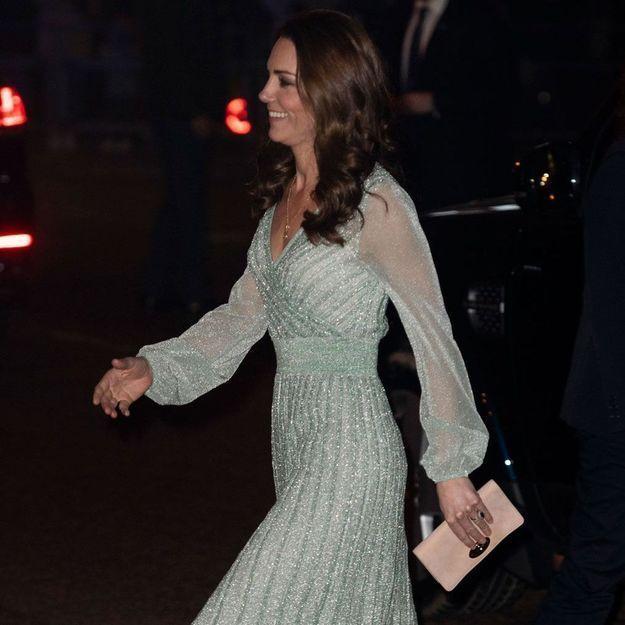 Kate Middleton : éblouissante en robe à paillettes