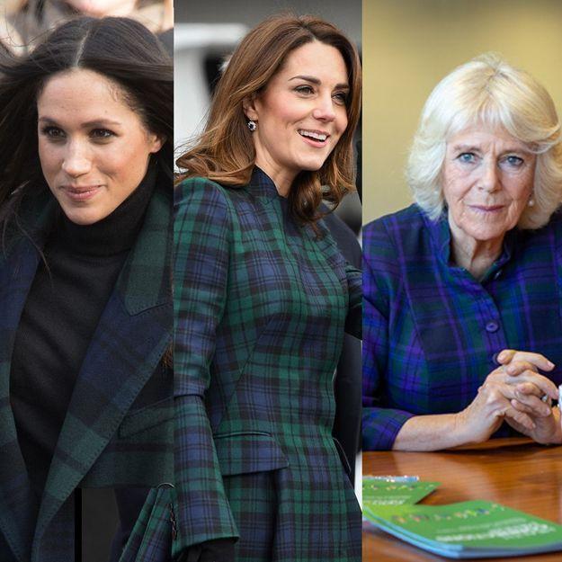 Kate Middleton, Meghan Markle et Camilla Parker Bowles se prêtent-elles ce vêtement ?